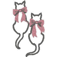 Рисунки кошки для вышивки