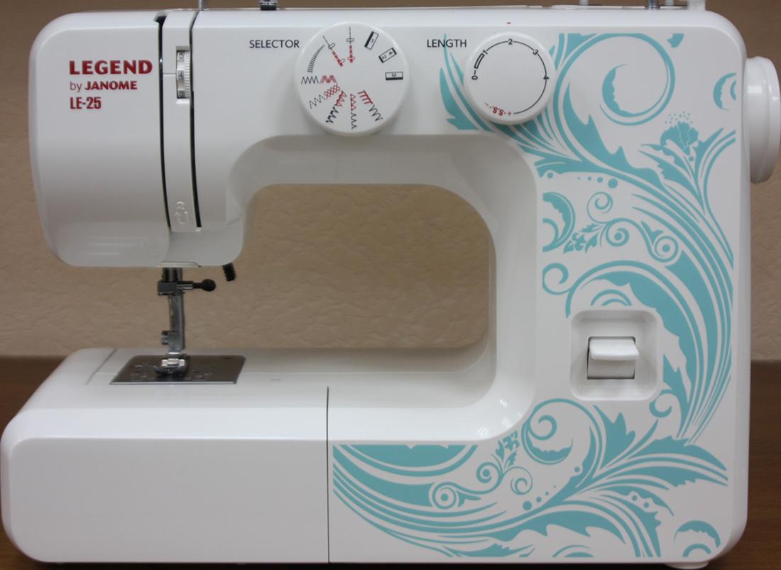 Ремонт швейных машин джаноме 23
