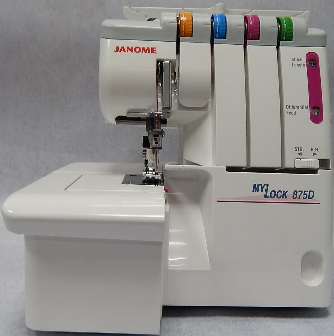 Петля для пуговицы на швейной машине Janome - Самошвейка 83